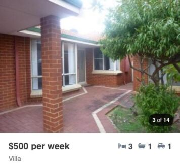 For Rent villa in Scarborough $500pw Scarborough Stirling Area Preview