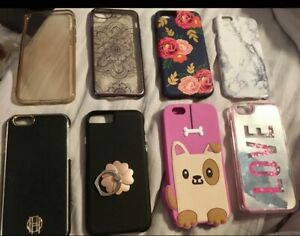 iPhone 6 Cases- All 8 for $15