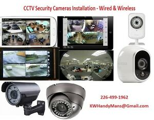 Wireless Security Camera Installation (Wired & Wireless)  We pro