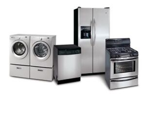 Cash paid for all appliances!!