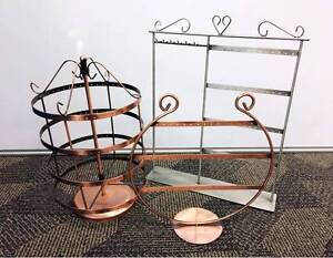 Jewelry Earring Accessories Stand Display Organizer Holder used! Strathfield Strathfield Area Preview