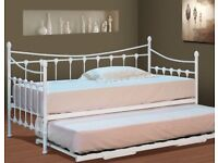 Single french daybed with trundle