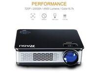 HD Projector (1280x720, 1080p) brand new in box