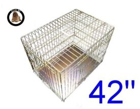 XL Dog Crate in Gold