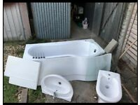 Complete bathroom set