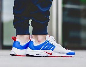Nike air presto white red blue brand new us 9.0 us11 us12 us13 Perth Perth City Area Preview