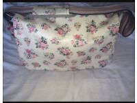 Cath Kidston changing bag with mat
