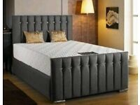 *Brand New* Upholstered Sleigh Bed for sale