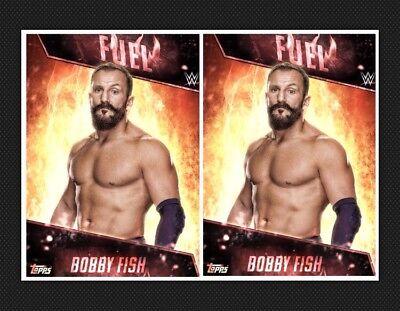 2x BOBBY FISH-FUEL INSERTS-TOPPS SLAM WWE DIGITAL