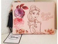 Disney Beauty and the Beast Belle Coin Purse/Money Wallet