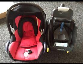Easy fix maxi cosi car seat with base