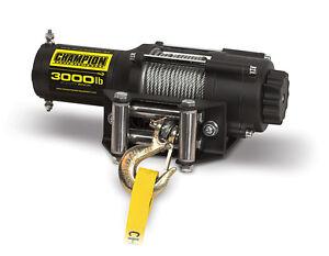 13004 - Champion Power Equipment 3000lb ATV/UTV Winch Kit
