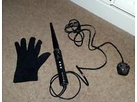 Babyliss Curling Wand and Glove