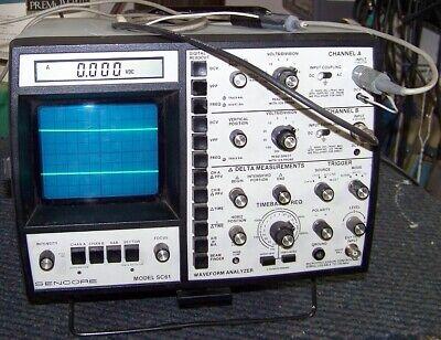 Sencore Sc61 Waveform Analyzer