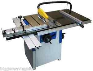 New Charnwood W629 10 Cast Iron Precision Ground Table Saw Ebay