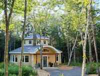 Unique passive solar home - only 10 min. from Moncton