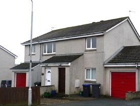 Unfurnished Self Contained Top Floor 2 Bedroom Flat Ellon with Garage and garden
