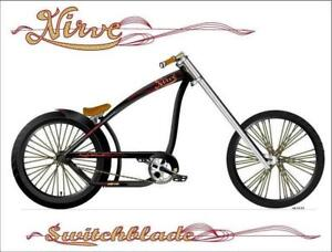 Chopper bicycle, Nirve Switchblade mint condition