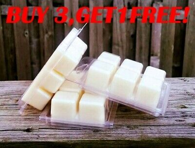 Soy Wax Clamshell Break Away tart melt wickless candle  (BUY 3 GET 1 FREE)#A