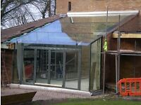 Glass Conservatory and Glassbox