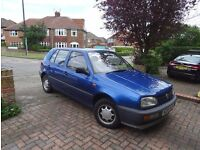 1995 VW Golf 1.4 petrol 5 door 52k miles