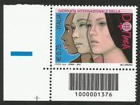 Repubblica Italiana - 2011 Giornata Della Donna Con Codice A Barre 1376 Basso Sx -  - ebay.it