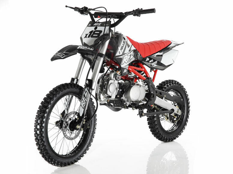 New Big Apollo dirt bike x18 for sale 125cc 4 Speed Manual Clutch free shipping