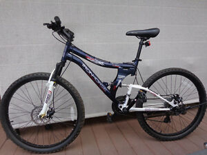 IRON HORSE bike with FULL suspension, front/back DISC brakes