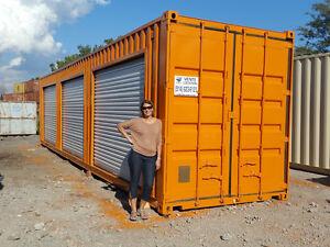 Conteneur avec porte achetez ou vendez des biens for Container garage prix