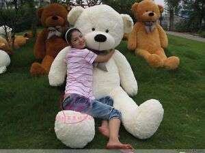 NEW-GIANT-78-200CM-TEDDY-BEAR-HUGE-SOFT-100-COTTON-TOY-Birthday-gift