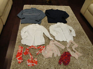 4 Teen's Tuxedo Shirts and 4 Womens Scarves...all for $14 Kitchener / Waterloo Kitchener Area image 1