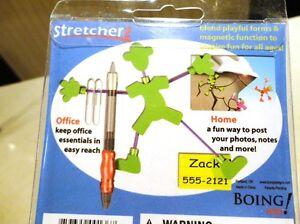 "Set of 4 brand New ""Stretchers"" Fridge magnet Memo-Photo Holders Kitchener / Waterloo Kitchener Area image 3"