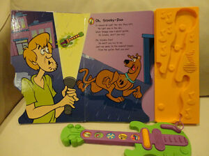 Scooby Doo Ghost Guitar Play A Song Storybook - Works Great Kitchener / Waterloo Kitchener Area image 3