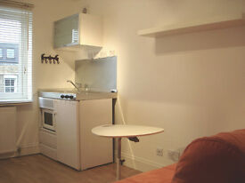 Newly refurbished medium size self contained studio flat in shepherds bush