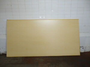 """Large 97"""" x 50"""" Melamine Table Top/Large Surface Sheet in Beech"""