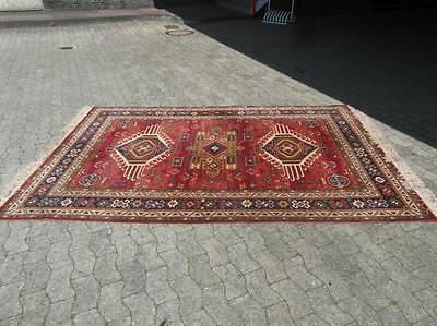 Teppich Salonteppich Wolle Edle Farben Dekorativ Gebraucht Bodenteppich