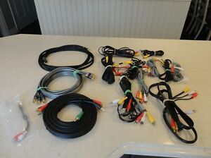 Assortment of quality Home Audio Cables -Component & RCA Kitchener / Waterloo Kitchener Area image 1