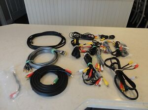 Assortment of quality Home Audio Cables -Component & RCA