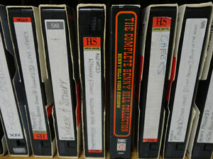 Solid Wood VHS Tape Cases W/ VHS Tapes with over 74 Great Movies Kitchener / Waterloo Kitchener Area image 5