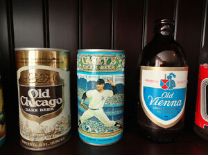 One Lot of 6 Beer Cans and Two Beer Bottles (One Can Of Air) Kitchener / Waterloo Kitchener Area image 3
