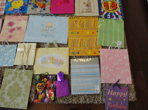 Assortment of 52 PREMIUM Gift Bags -A Range Of Sizes $25/ All Kitchener / Waterloo Kitchener Area image 7