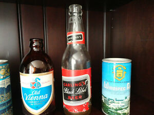 One Lot of 6 Beer Cans and Two Beer Bottles (One Can Of Air) Kitchener / Waterloo Kitchener Area image 4