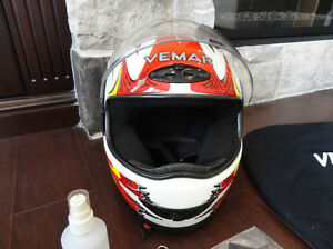 Excellent Shape Vemar Full Face Size Small-Medium Bike Helmet Kitchener / Waterloo Kitchener Area image 6