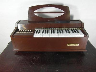 Orgel Heimorgel Design Magnus Modell 391 USA Electric Chord Organ Keyboard Rar