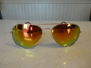 Aviator Sunglasses - Copper Frame w/ Orange Lens - BRAND NEW Kitchener / Waterloo Kitchener Area image 2