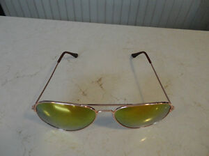 Aviator Sunglasses - Copper Frame w/ Orange Lens - BRAND NEW Kitchener / Waterloo Kitchener Area image 3
