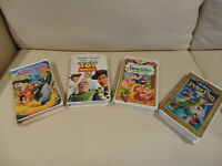 Set of 4 Kids VHS Movies -Great Condition All/$6.00 or $2.50/ea.