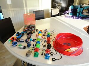 Selling Our Son's Large Beyblades Collection -In Great Shape