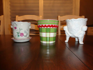 Set of Three Decorative Ceramic Containers $9.00/for all 3 Kitchener / Waterloo Kitchener Area image 10