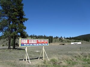 4500 sf storage, office, 100 acre land, house in Clinton BC